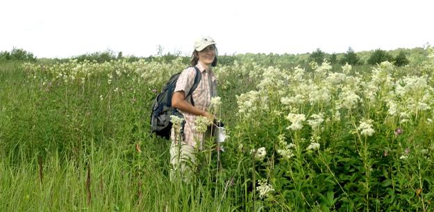 В долине реки Вьюлки. Каримова Т.Ю. Фото Ж.Кузьминой