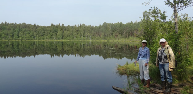 Озеро Глебовское. Фото Ж.Кузьминой