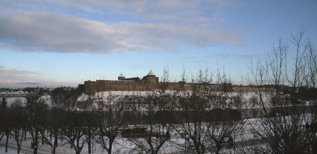 Ивангород на реке Нарва. Фото О.С. Гринченко