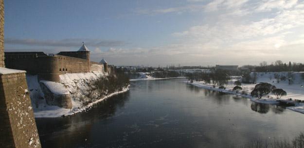 Зимняя Нарва. Фото О.С. Гринченко