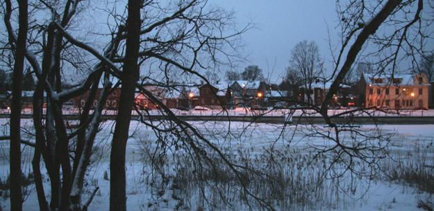 Река Эмайыги, Тарту, Эстония. Фото О.С. Гринченко